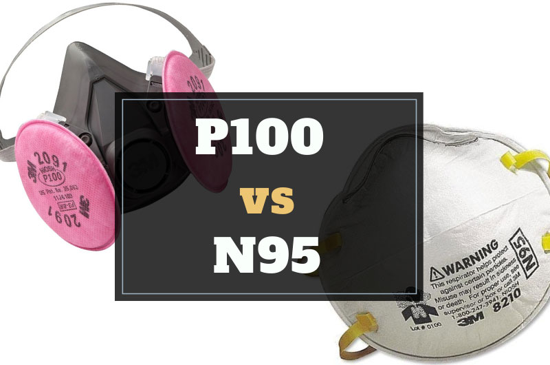 P100 vs N95 – Differences and Comparison